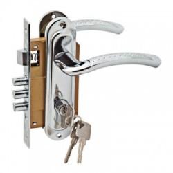 Дверной комплект LH 7036 - 59PC  хром блест