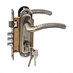 Дверной комплект LH 7036 - 891 AB бронза