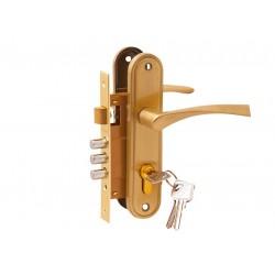 Дверной комплект LH 7036 - X11SB  золото мат