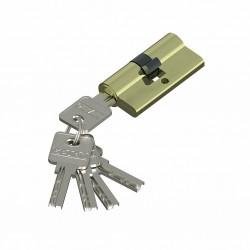 Цилиндр ключевой Bravo AЕK-60-30/30 G Золото