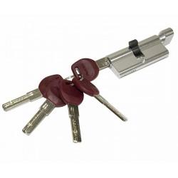 Цилиндр ключевой Avers JМ-70-С (35*35) CR Хром