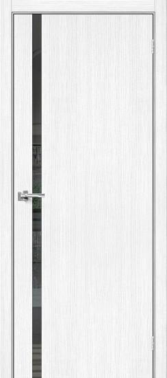Межкомнатная дверь Браво-1.55 Snow Veralinga Mirox Grey