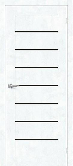 Межкомнатная дверь Браво-22 Snow Art Black Star