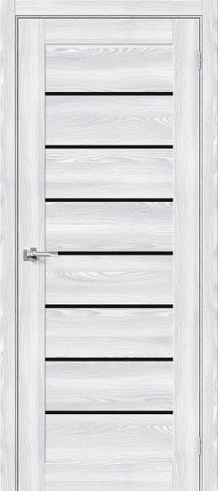 Межкомнатная дверь Браво-22 Riviera Ice Black Star
