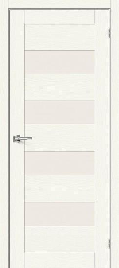 Межкомнатная дверь Браво-23 White Wood Magic Fog