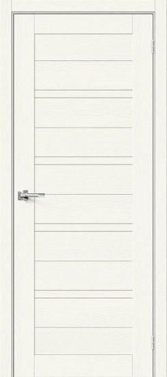 Межкомнатная дверь Браво-28 White Wood Magic Fog