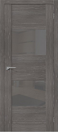 Межкомнатная дверь VG2 S Grey Veralinga Smoke