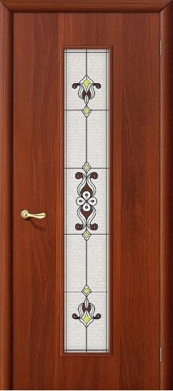 Межкомнатная дверь 23Х Л-11 (ИталОрех) Сатинато