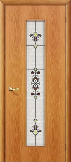 Межкомнатная дверь 23Х Л-12 (МиланОрех) Сатинато