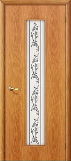 Межкомнатная дверь 24Х Л-12 (МиланОрех) Сатинато