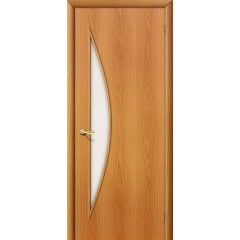 Межкомнатная дверь 5С Л-12 (МиланОрех) Сатинато