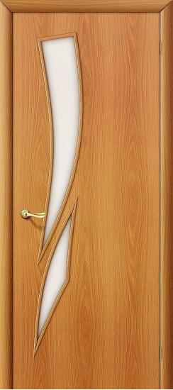 Межкомнатная дверь 8С Л-12 (МиланОрех) Сатинато