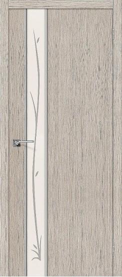 Межкомнатная дверь Глейс-1 Twig 3D Cappuccino Twig