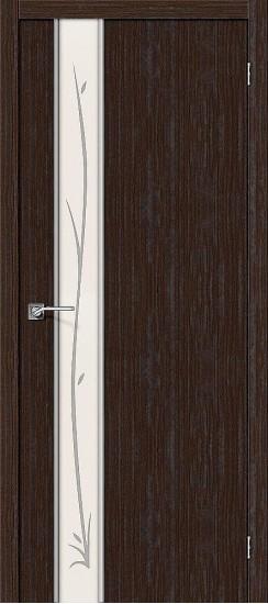 Межкомнатная дверь Глейс-1 Twig 3D Wenge Twig