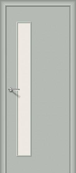 Межкомнатная дверь Гост-3 Л-16 (Серый) Magic Fog