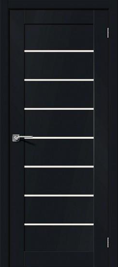 Межкомнатная дверь Браво-22 Black Mix Magic Fog