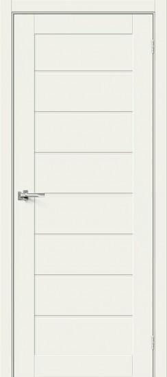 Межкомнатная дверь Браво-22 White Mix Magic Fog