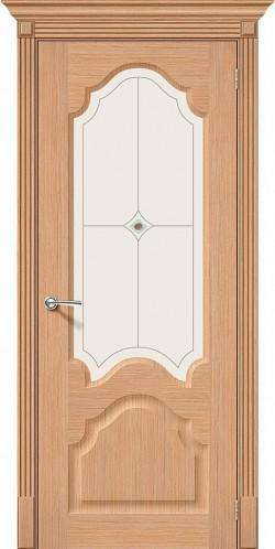 Межкомнатная дверь Афина Ф-01 (Дуб) Худ.
