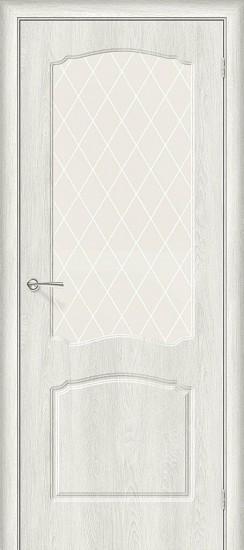 Межкомнатная дверь Альфа-2 Casablanca White Сrystal