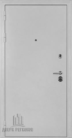 Дверь входная Колизей Белое серебро антик