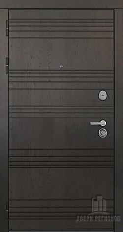 Дверь входная со сменными панелями Министр Горький шоколад