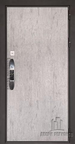 Дверь входная электронная взломостойкая Новатор Серый шпат
