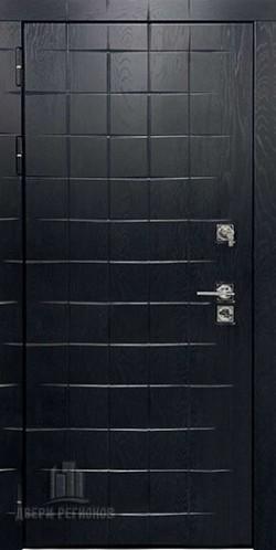 Дверь входная взломостойкая Сенатор ПЛЮС Альберо Блэк Рисунок грань