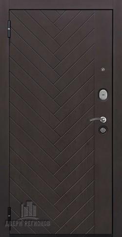 Дверь входная Вектор Лофт Z Зеркало Maxi Горький шоколад