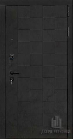 Дверь входная Quadro Бетон графит темный 10 мм