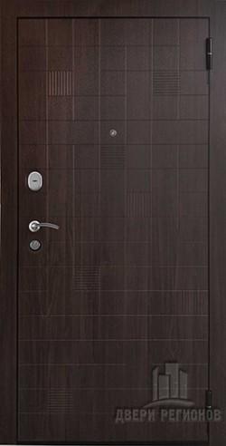 Дверь входная Вектор Статус Fusion Орех темный