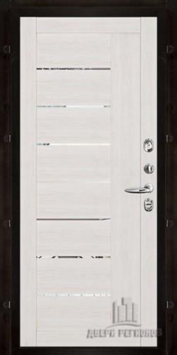 Внутренняя панель LIGHT 2110 (зеркало) Капучино велюр