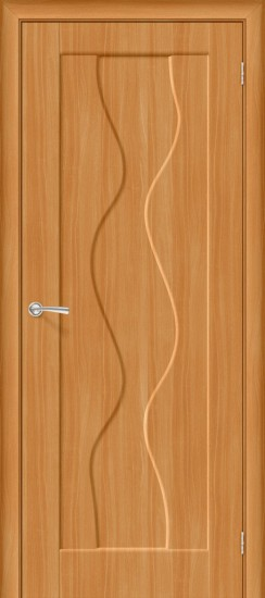 Межкомнатная дверь Вираж Плюс П-18 (МиланОрех)