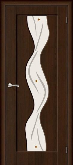 Межкомнатная дверь Вираж П-19 (Венге) Худ.