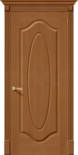 Межкомнатная дверь Аура Ф-11 (Орех)