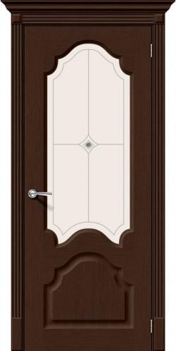 Межкомнатная дверь Афина Ф-27 (Венге) Худ.