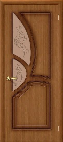 Межкомнатная дверь Греция Ф-11 (Орех) Худ.