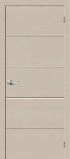 Межкомнатная дверь Вуд Арт-1.H Latte