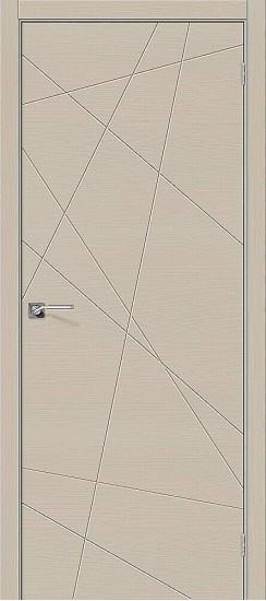 Межкомнатная дверь Вуд Арт-5.H Latte