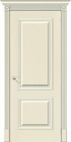 Межкомнатная дверь Вуд Классик-12 Ivory