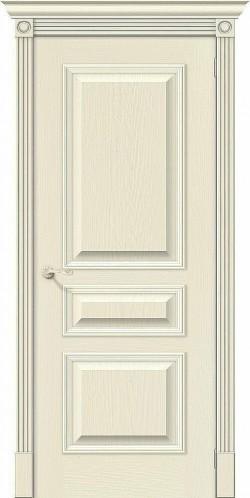 Межкомнатная дверь Вуд Классик-14 Ivory