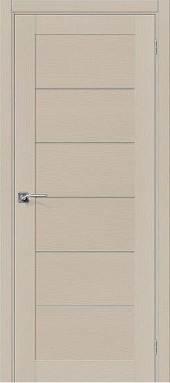 Межкомнатная дверь Вуд Модерн-21 Latte