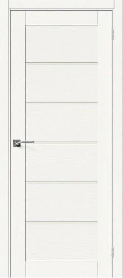 Межкомнатная дверь Вуд Модерн-22 Whitey Magic Fog