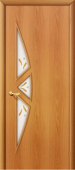 Межкомнатная дверь 15Ф Л-12 (МиланОрех) Фьюзинг