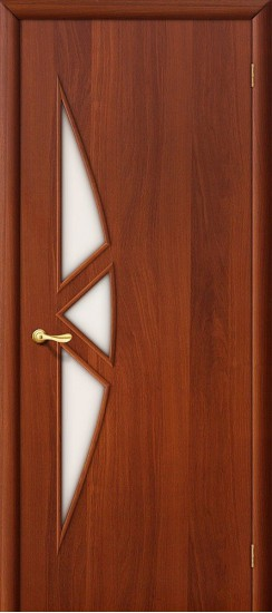 Межкомнатная дверь 15С Л-11 (ИталОрех) Сатинато
