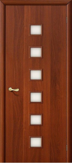 Межкомнатная дверь 1С Л-11 (ИталОрех) Сатинато