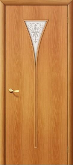 Межкомнатная дверь 3Х Л-12 (МиланОрех) Худ.