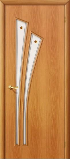 Межкомнатная дверь 4Ф Л-12 (МиланОрех) Фьюзинг