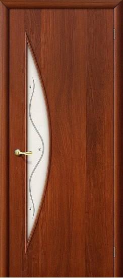 Межкомнатная дверь 5Ф Л-11 (ИталОрех) Фьюзинг