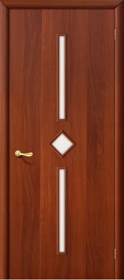 Межкомнатная дверь 9С Л-11 (ИталОрех) Сатинато