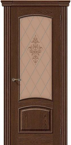Межкомнатная дверь Амальфи Т-32 (Виски) Худ.
